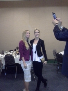 Tara, Former Miss USA with Shelby, Aspiring to be Miss USA!!!